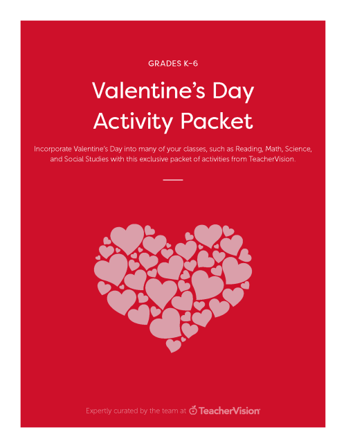 small resolution of Valentine's Day Activities Packet - TeacherVision