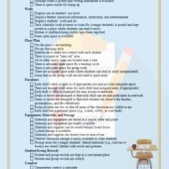 Classroom Organizer Chair Covers Cowhide Accent Arrangement Checklist Teachervision