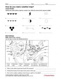 Weather Map Worksheets - Kidz Activities