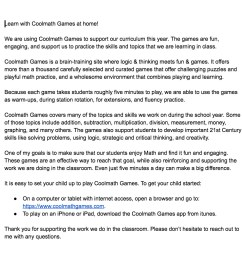 Coolmath Games Letter To Parents - TeacherVision [ 1018 x 1212 Pixel ]