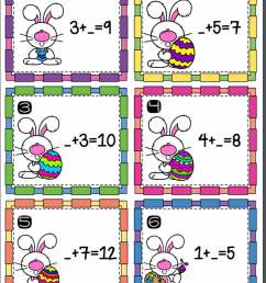 Easter Addition Scoot Activity - TeacherVision [ 1575 x 1200 Pixel ]