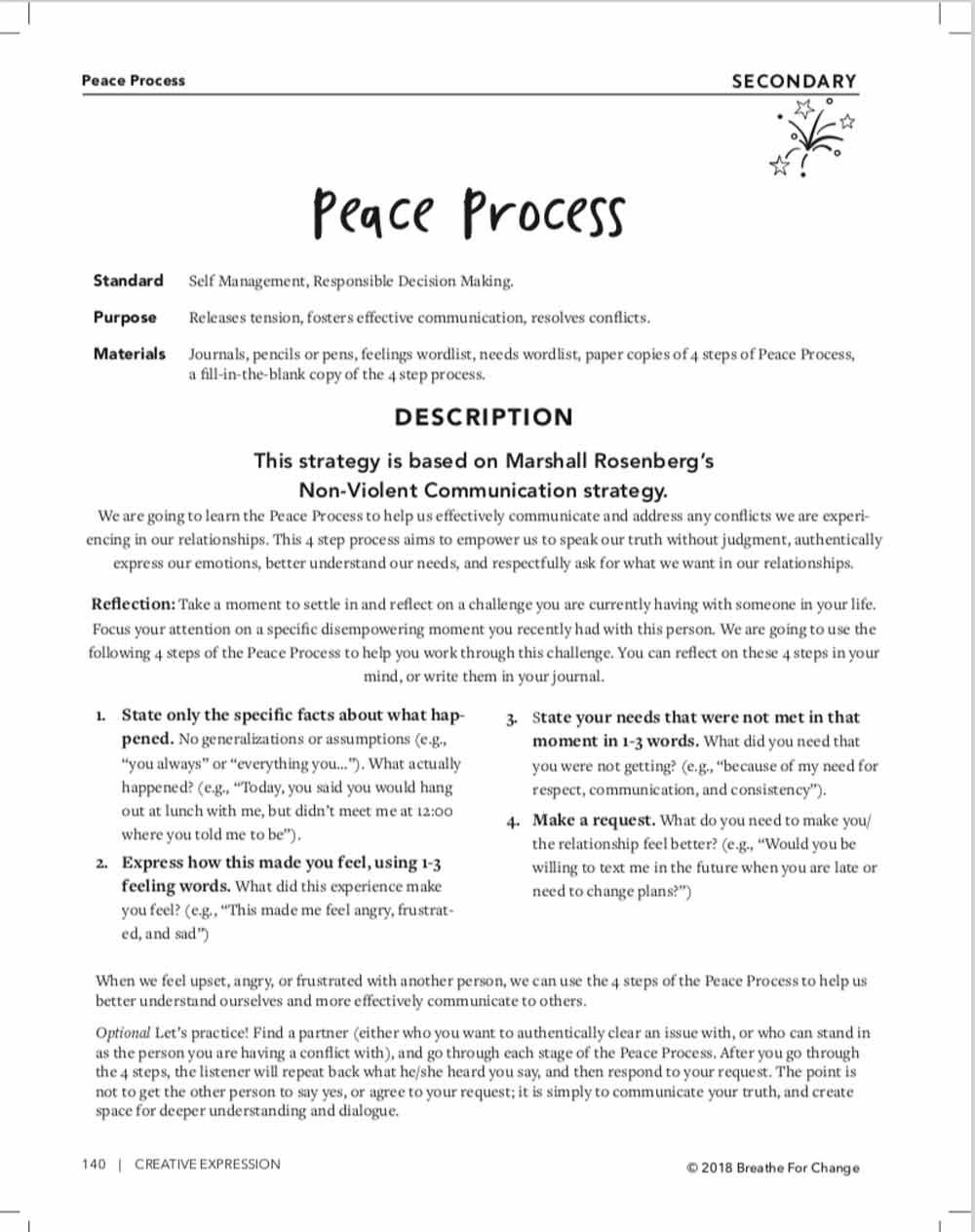 hight resolution of Peace Process - TeacherVision
