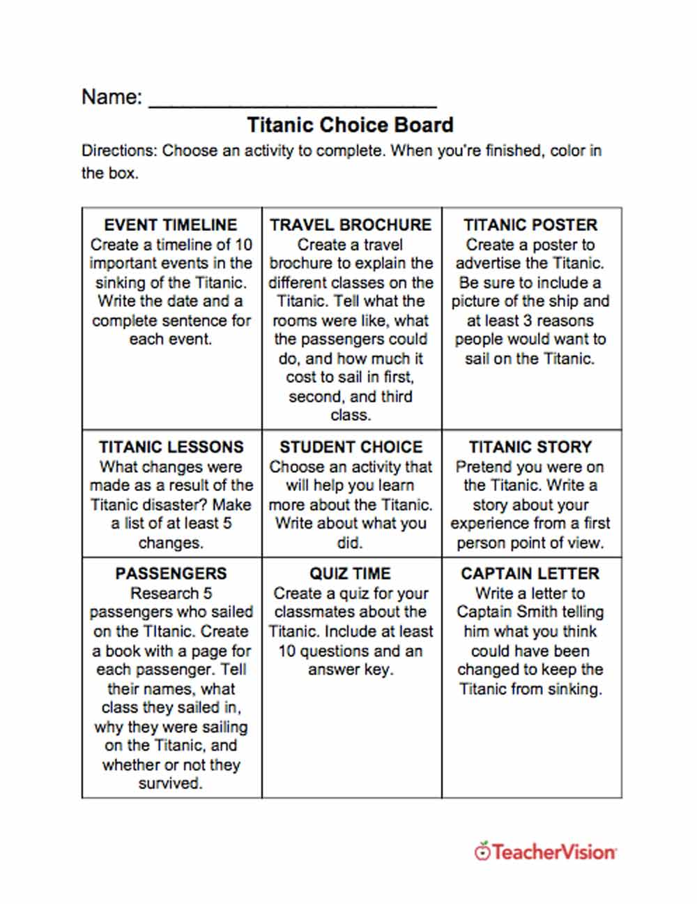 medium resolution of Social Studies and History Graphic Organizers Resources   TeacherVision