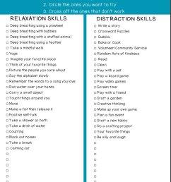 Coping Skills Printables - TeacherVision [ 1136 x 880 Pixel ]