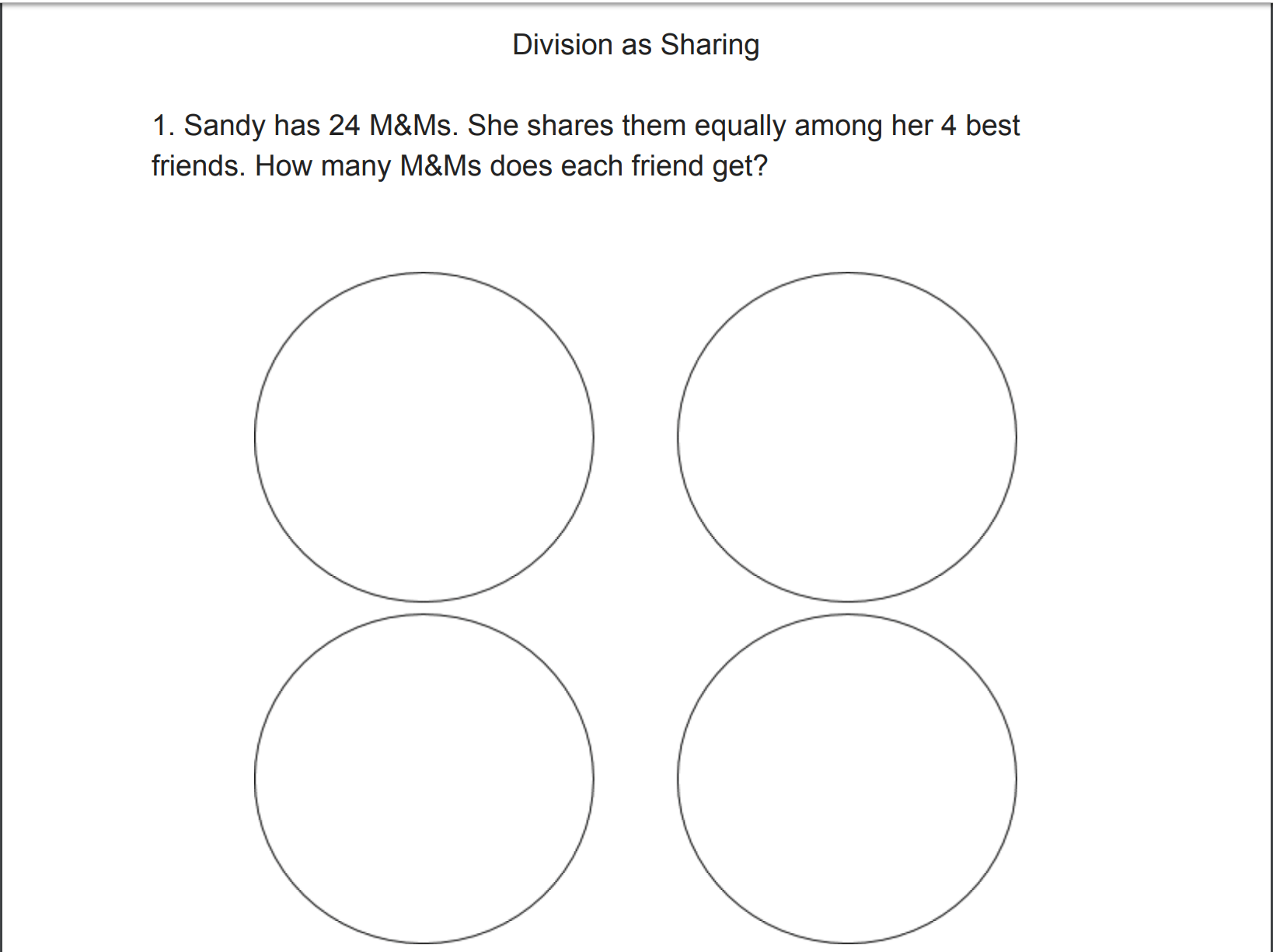 New This Week Division As Sharing A Comprehensive Lesson Plan