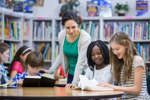 Reading Strategy Groups In Classroom