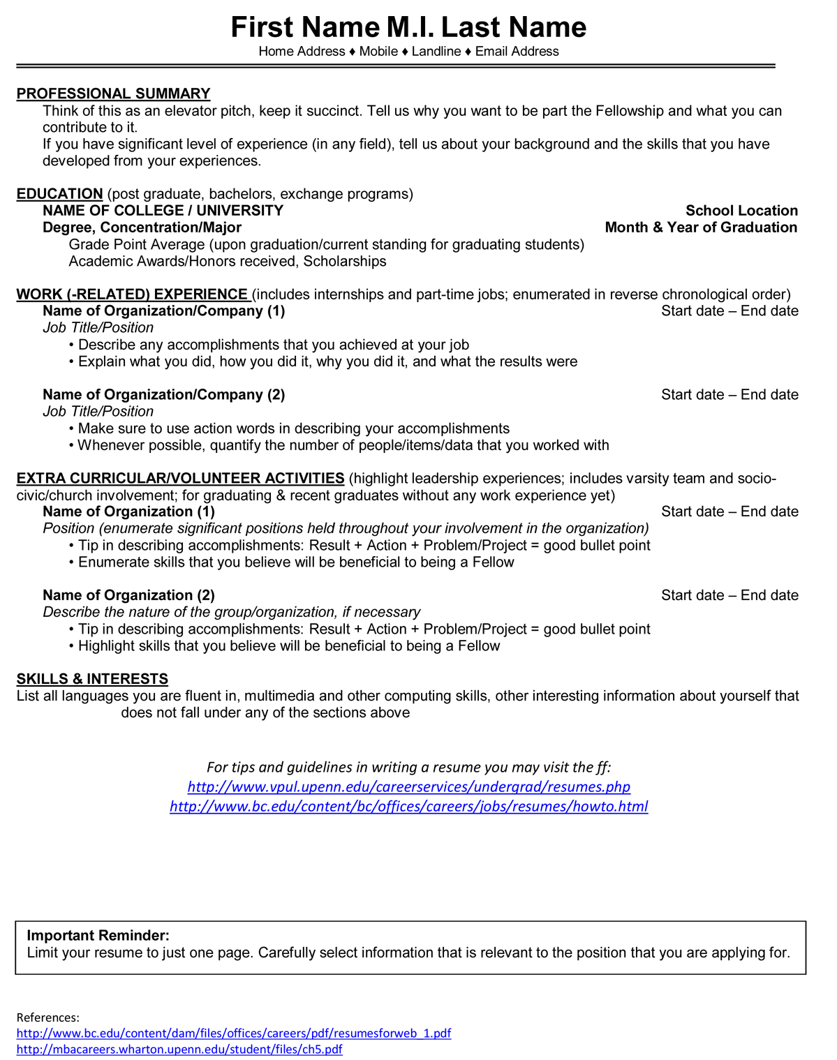 Resume For Kitchen Manager Sample One Service