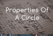 Properties-Of-A-Circle
