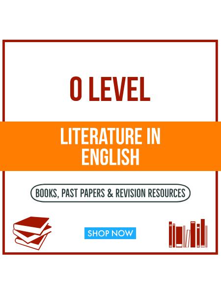 O Level Literature in English