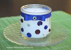 Wine Bottles Are Perfect Candleholders Decoist Use Ribbons To Enhance Candles
