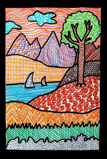Image Result For Landscape Drawing Ks