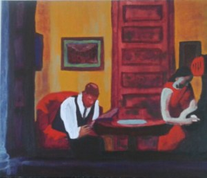 Edward Hopper A Room in New York