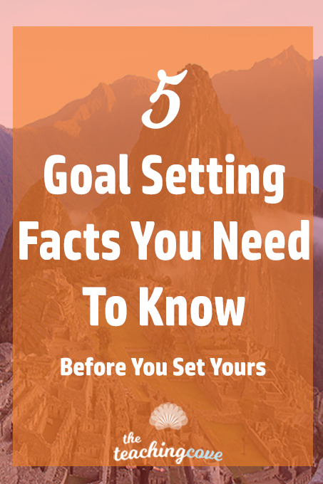 5 Goal Setting Facts