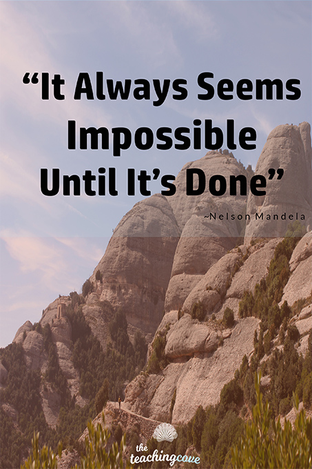 It Always Seems Impossible Until