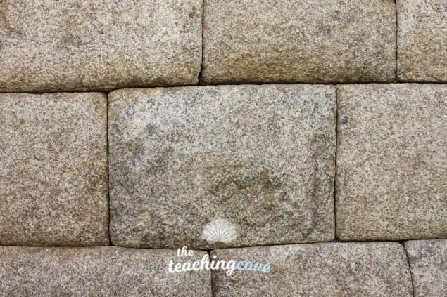 Peru brick wall