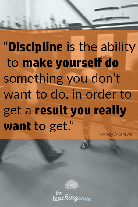 Discipline Is - Motivational Monday