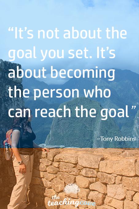 Motivational Monday Goal Setting