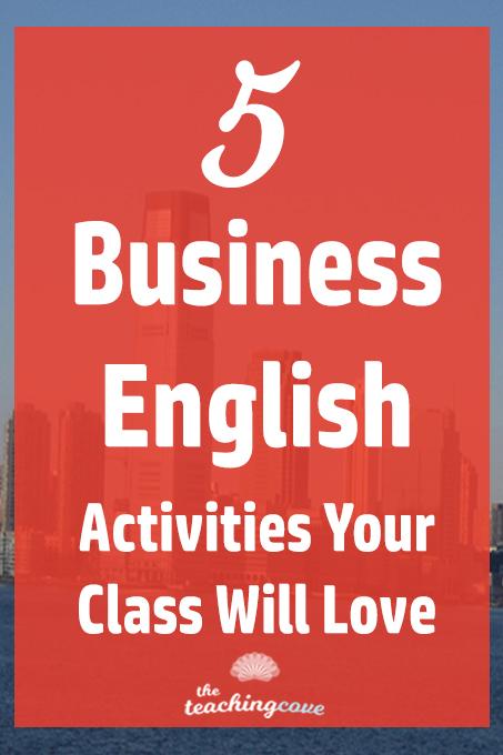 5 Business English Activities