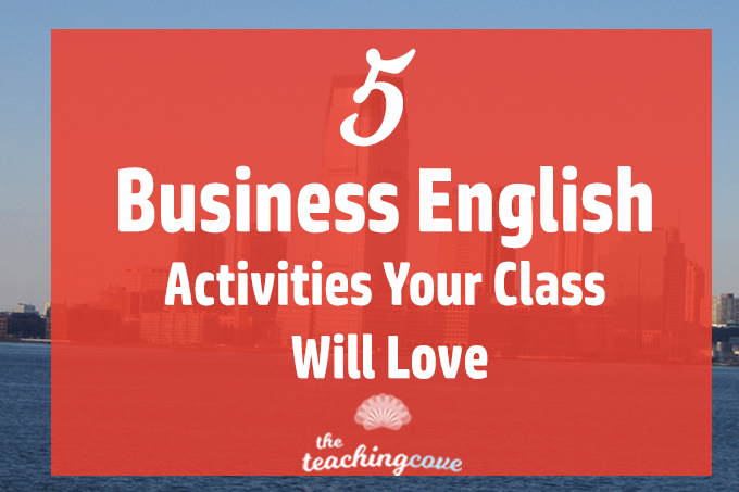 5 Business English Activities