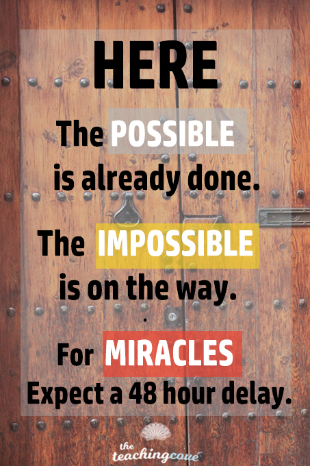 Impossible Is On The Way
