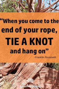 Motivational Monday - End of Your Rope