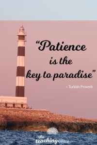 Motivational Monday 39 Patience