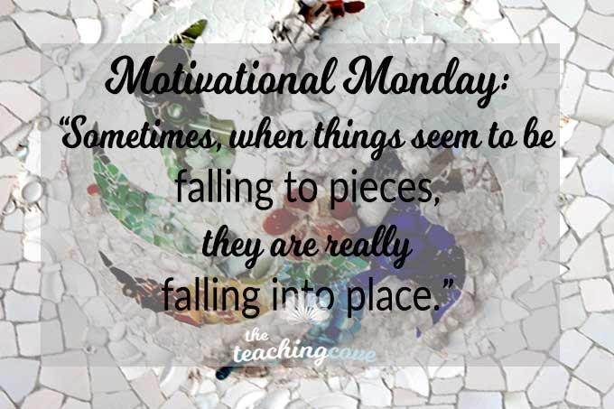 Motivational Monday 49 Falling Apart