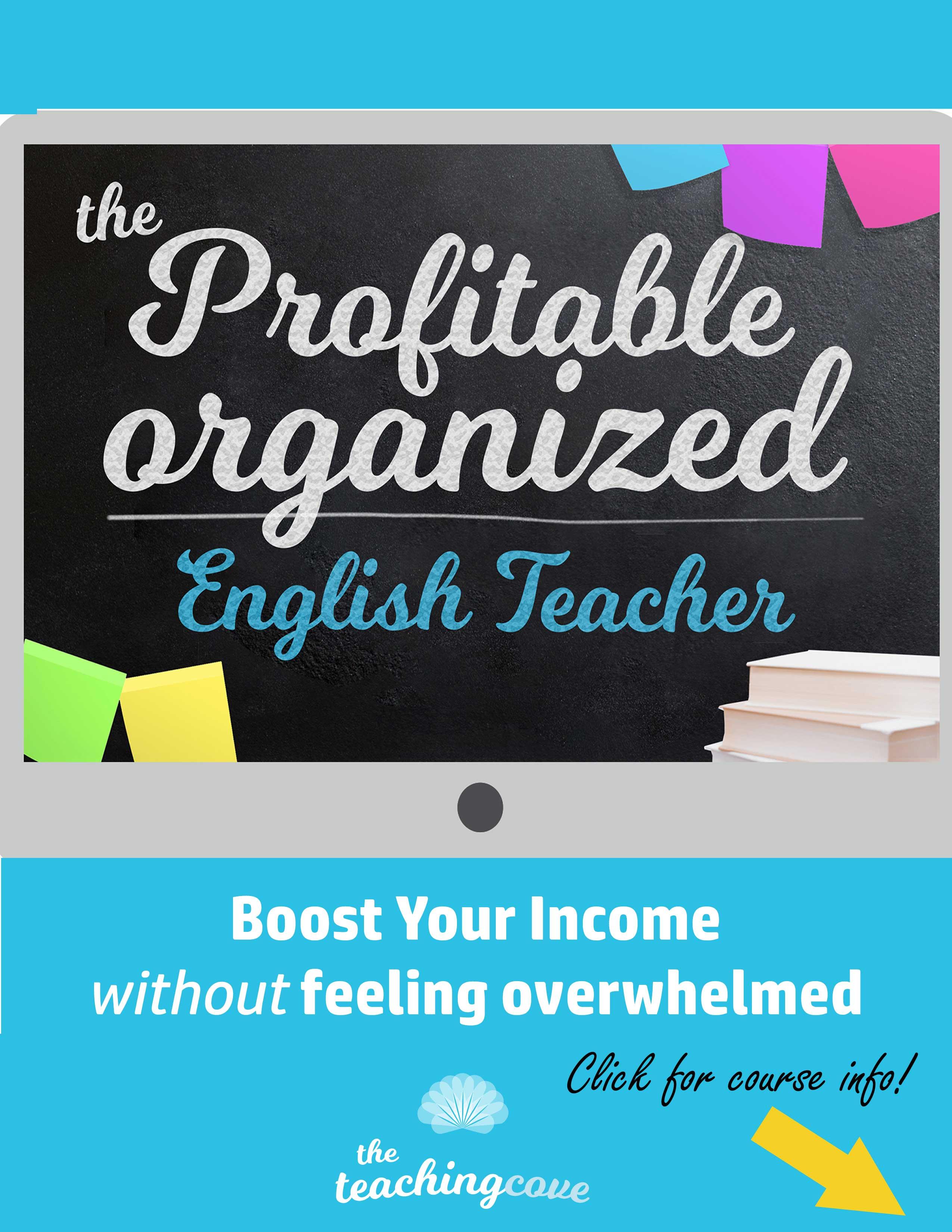 Profitable Organized English Teacher Course - Boost Your Income