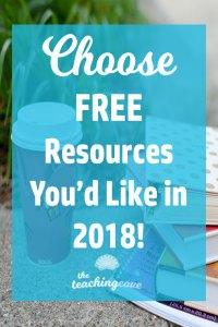 2017 Survey free printables
