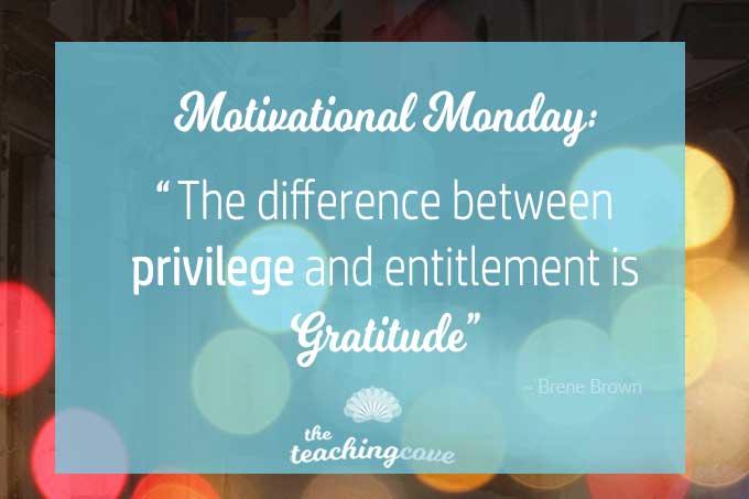 Motivational Monday 63 Gratitude featured