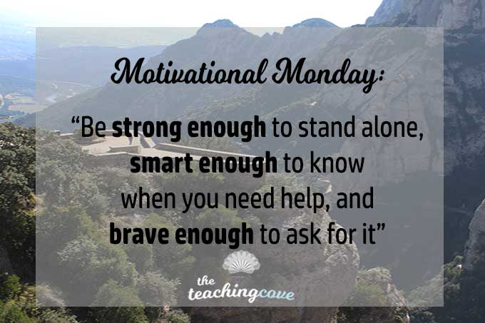 Motivational Monday 65- Ask for Help featured