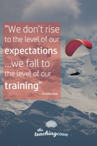 Motivational Monday 84 Expectations Training