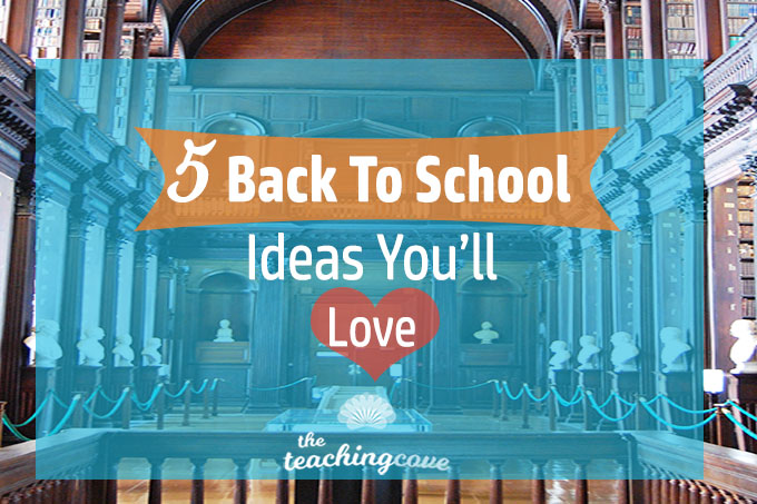 5 Awesome Tips for Back To School [Round-Up Post]