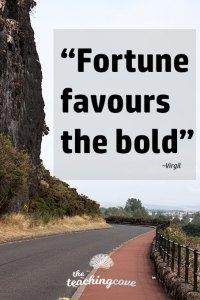 Motivational Monday 101 Fortune Bold