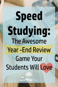 Speed-Studying-Year-End-Review-Game