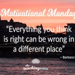 Motivational Monday: On Culture – Everything You Think Is Right Can Be Wrong