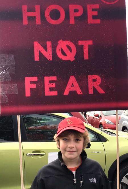 Hope not fear