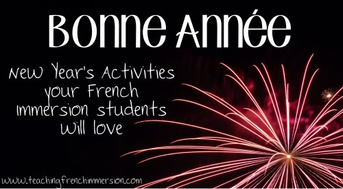 small resolution of New Year's Activities French Immersion Students will Love - Teaching French  Immersion: Ideas for the Primary Classroom