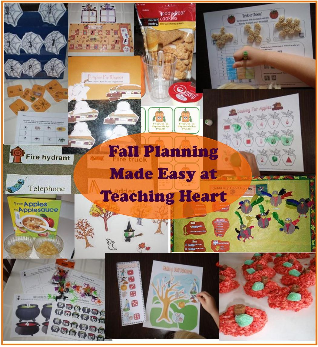 Fall Theme Unit Ideas Printables And More