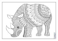 Mindfulness Colouring Images (Animals) | Teaching Ideas