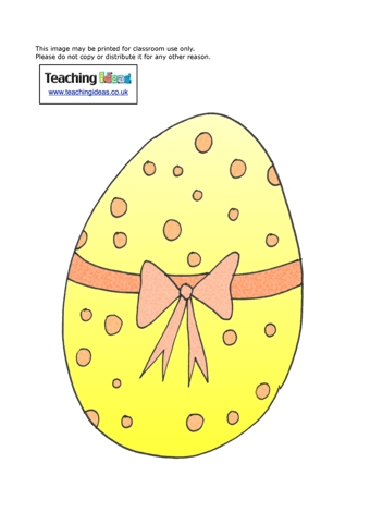 easter eggs display pictures