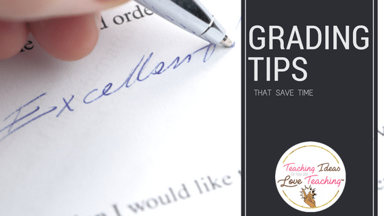Grading Tips That Save Time