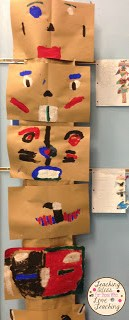 Student Made Native American Heritage Totem Pole
