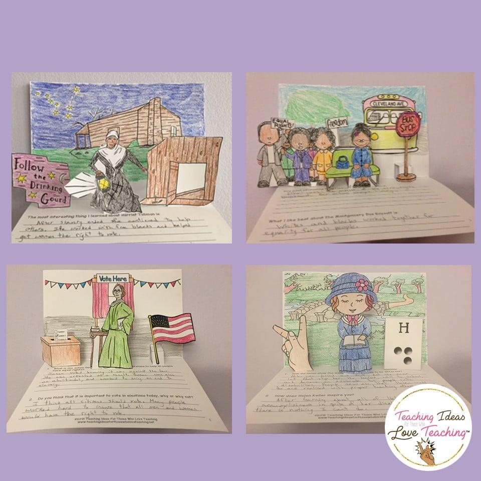 Womens history month bulletin board ideas