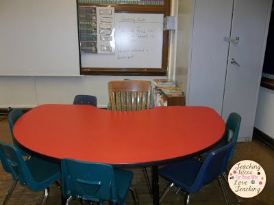 2nd grade Guided Reading Lessons Area