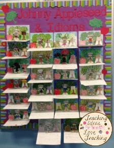 Johnny Appleseed Pop up book