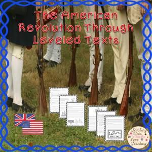 American Revolution Through Leveled Texts