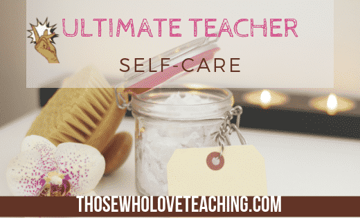 Teacher Self Care Images