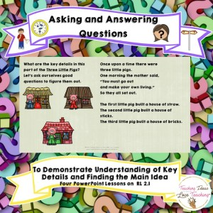 free guided reading powerpoint on asking and answering questions