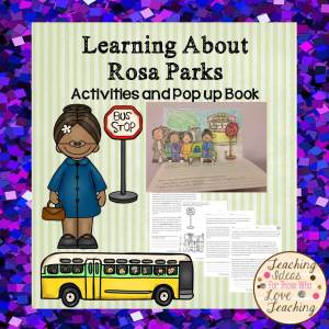 A fun history lesson on the life of Rosa Parks.
